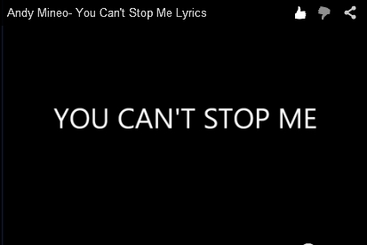 You Can't Stop Me Ringtone Download Free