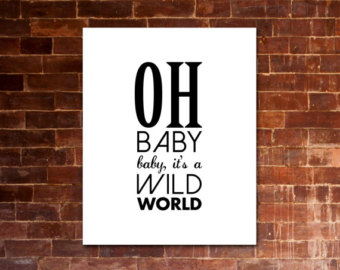 Oh, Baby, Baby It's A Wild World Ringtone Download Free
