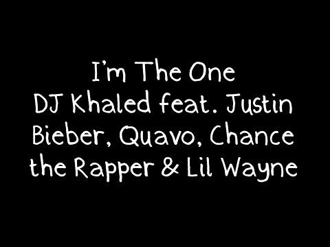 I'm The One Ft. Justin Bieber, Quavo, Chance The Rapper, Lil Wayne Ringtone Download Free