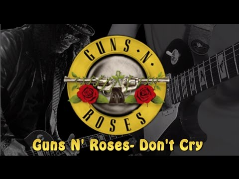 Don`t Cry Ringtone Download Free