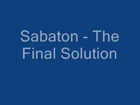 The Final Solution Ringtone Download Free