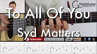 Syd Matters / To All Of You Ringtone Download Free