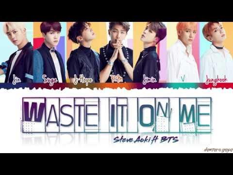 Waste It On Me Ringtone Download Free Steve Aoki Feat Bts Mp3