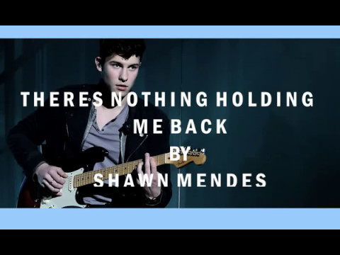 There's Nothing Holding' Me Back Ringtone Download Free