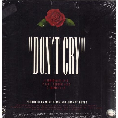 Don't Cry Ringtone Download Free