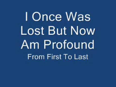 I Once Was Lost, But Now Am Found Ringtone Download Free