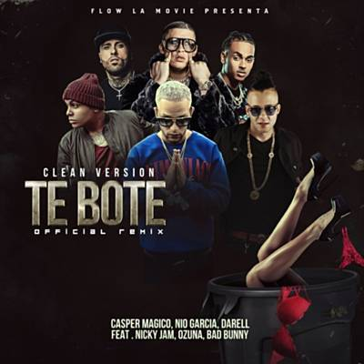 Te Boté (Remix) Ringtone Download Free