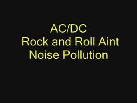 Rock 'n Roll Aint Noise Pollution Ringtone Download Free