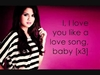I Love You Like A Love Song, Baby... Ringtone Download Free